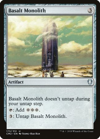 Basalt Monolith [Commander Anthology Volume II] | Red Claw Gaming