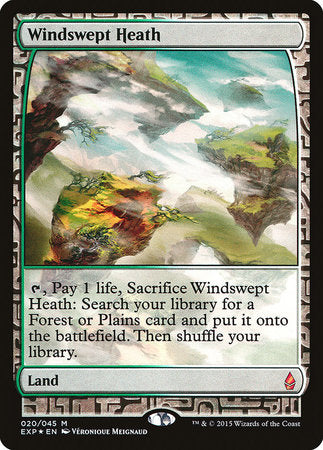 Windswept Heath [Zendikar Expeditions] | Red Claw Gaming