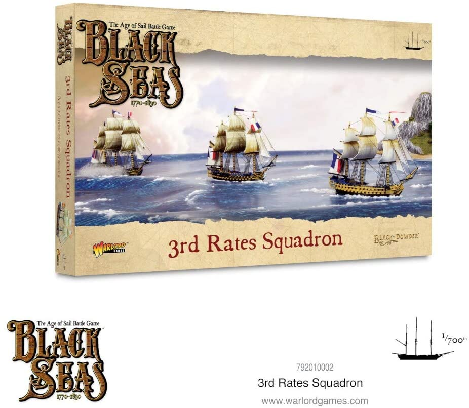 Black Seas 3rd Rates Squadron | Red Claw Gaming