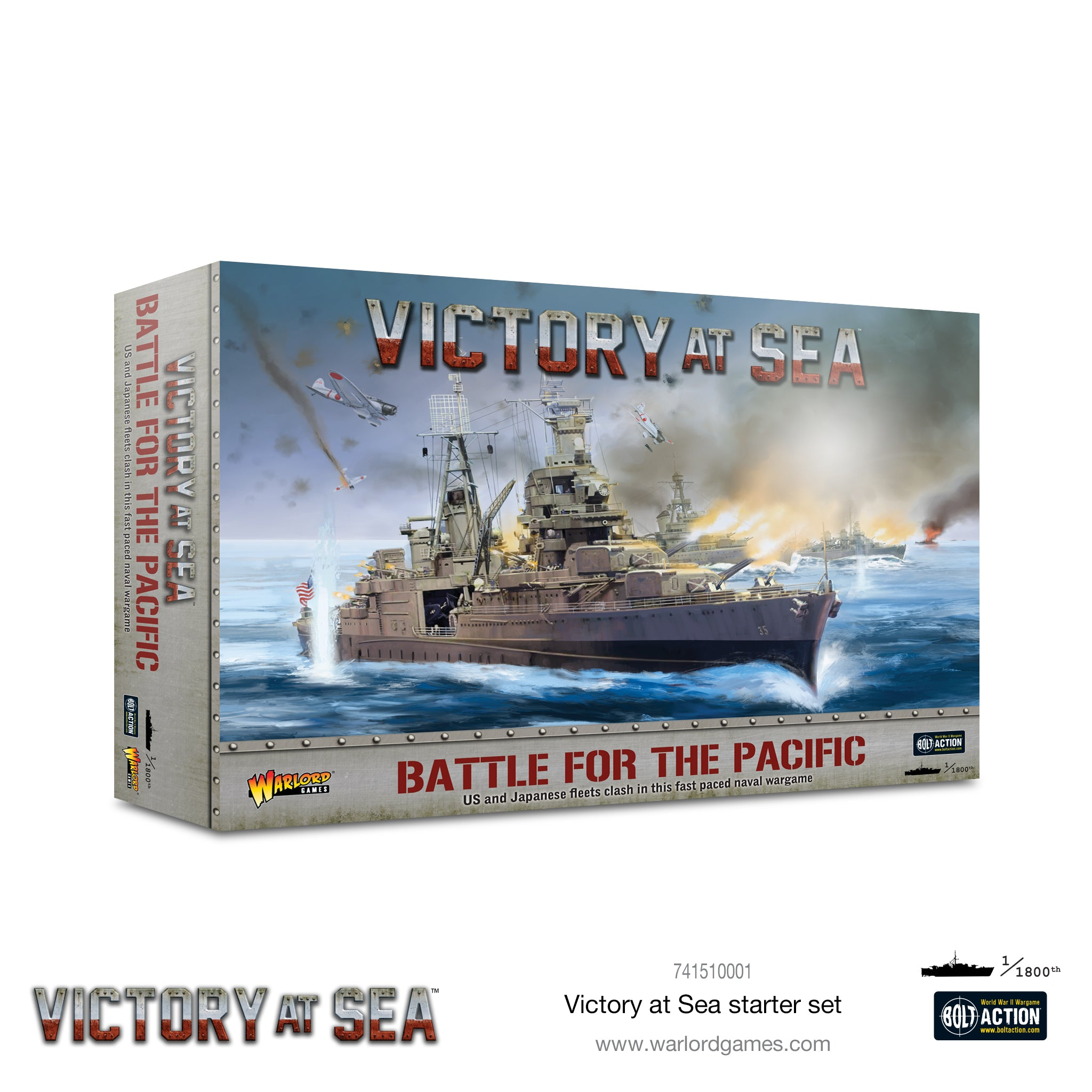 Battle for the Pacific - Victory at Sea | Red Claw Gaming