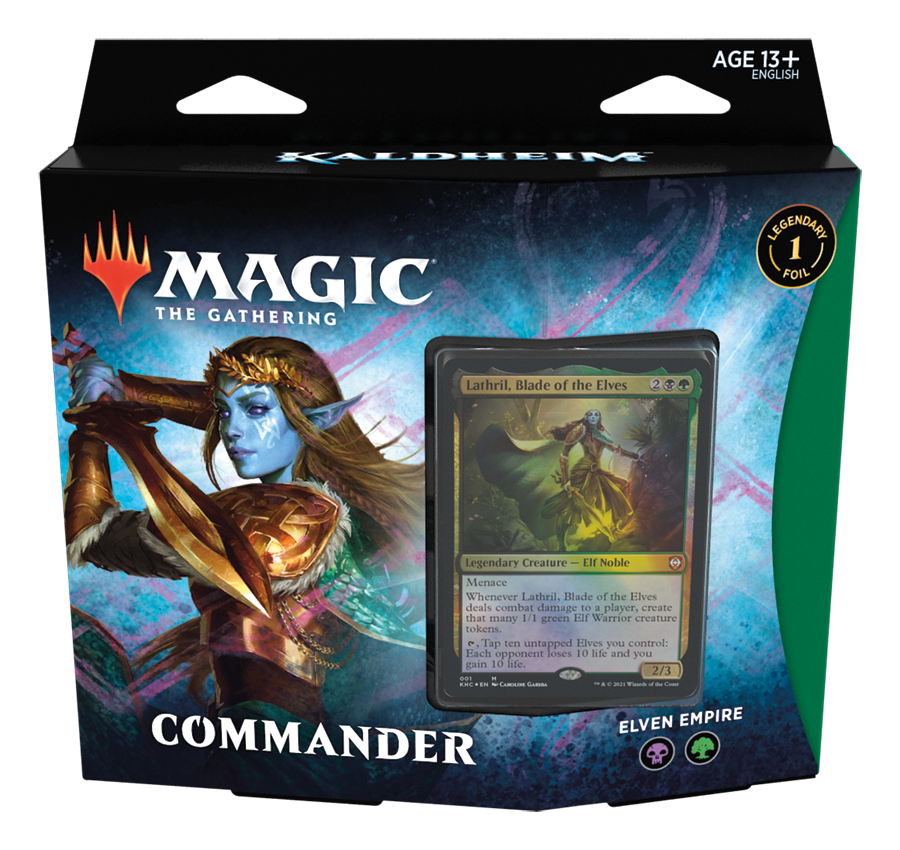 MTG KALDHEIM COMMANDER - ELVISH EMPIRE | Red Claw Gaming