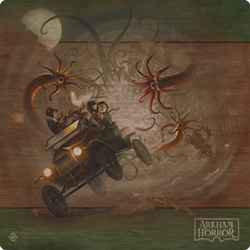 Arkham Horror Third Edition Game Mat | Red Claw Gaming