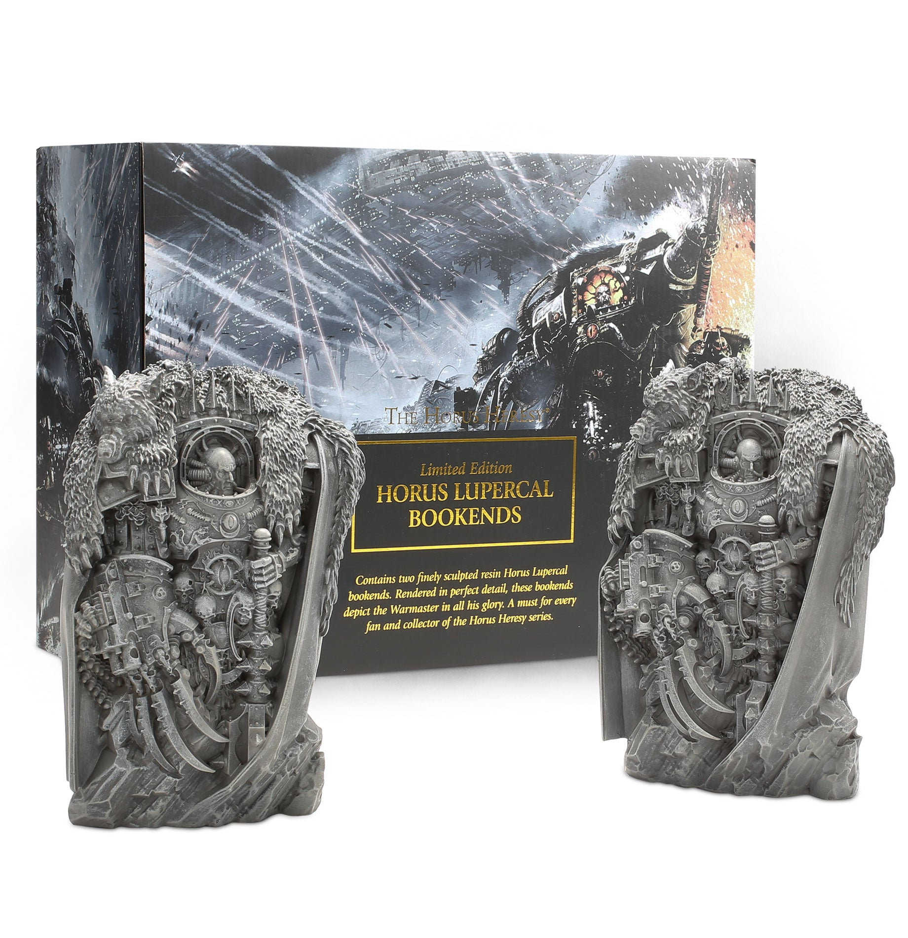 BLACK LIBARY HORUS HERESY BOOK ENDS | Red Claw Gaming