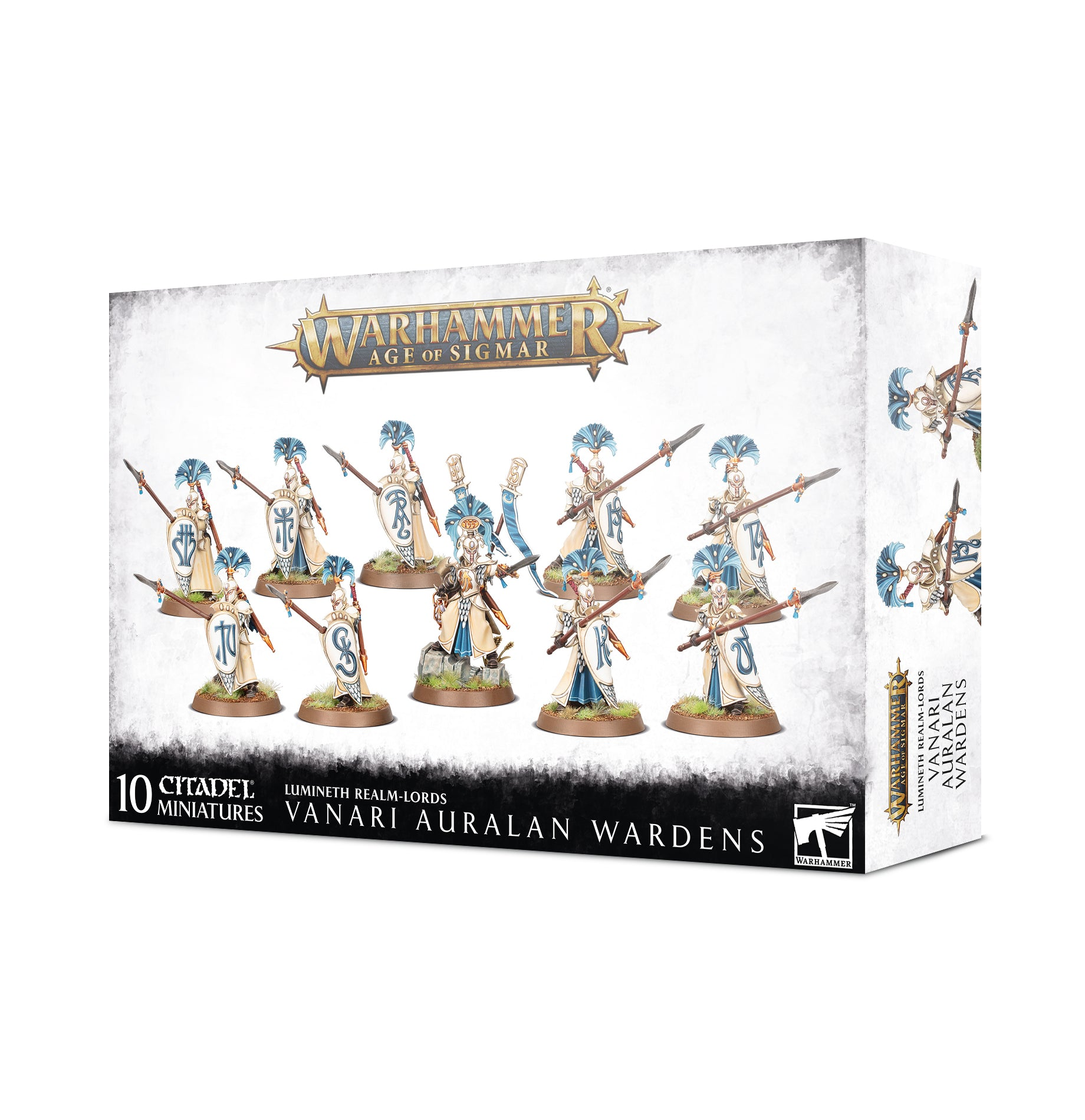 Lumineth Realm Lords Vanari Auralan Wardens Red Claw Gaming The battlefoam yuan yuan is probably the rarest of all the limited editions. red claw gaming