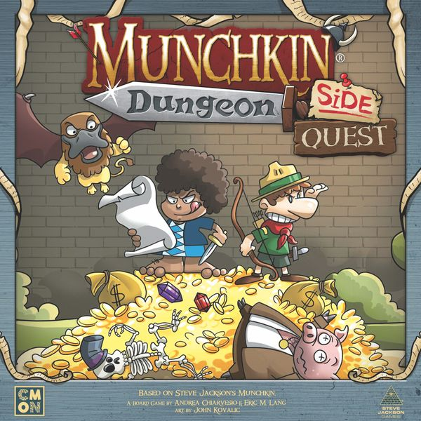 Munchkin Dungeon Side Quest | Red Claw Gaming