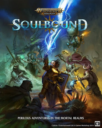 WARHAMMER AGE OF SIGMAR RPG SOULBOUND HC | Red Claw Gaming