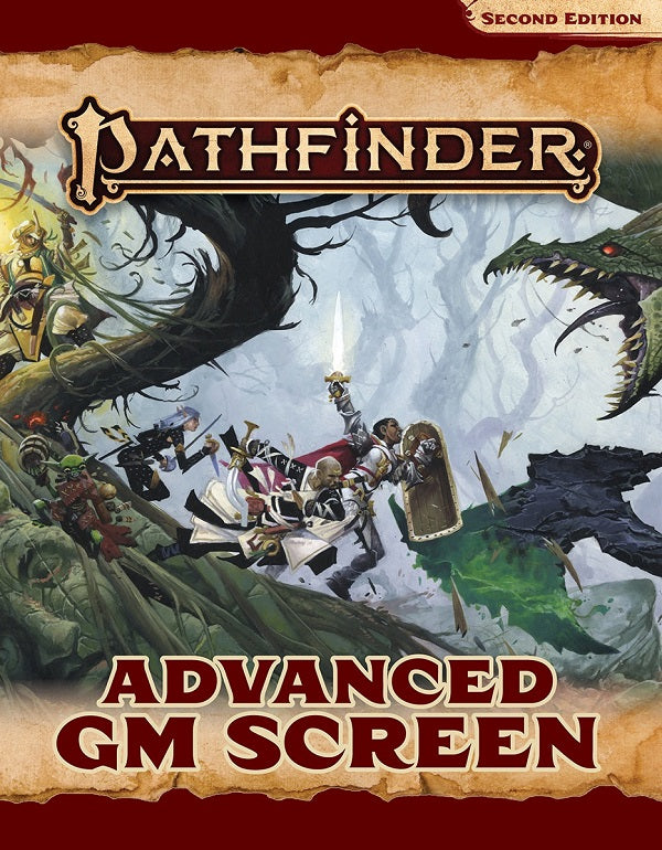 PATHFINDER 2E ADVANCED GM SCREEN | Red Claw Gaming