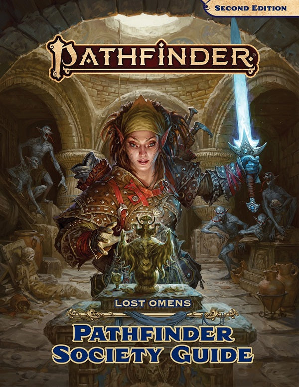 PATHFINDER 2E LOST OMENS SOCIETY GUIDE HC | Red Claw Gaming