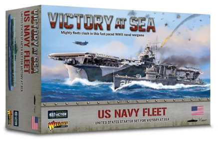 Victory At Sea US Navy Fleet Box | Red Claw Gaming