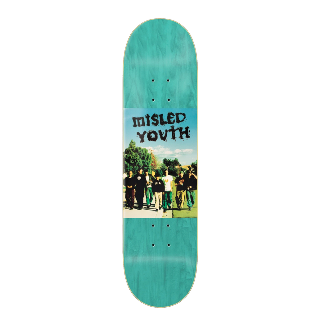 Zero Skatebords Misled Youth deck 8.25