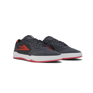LAKAI FOOTWEAR ATLANTIC CHARCOAL SUEDE
