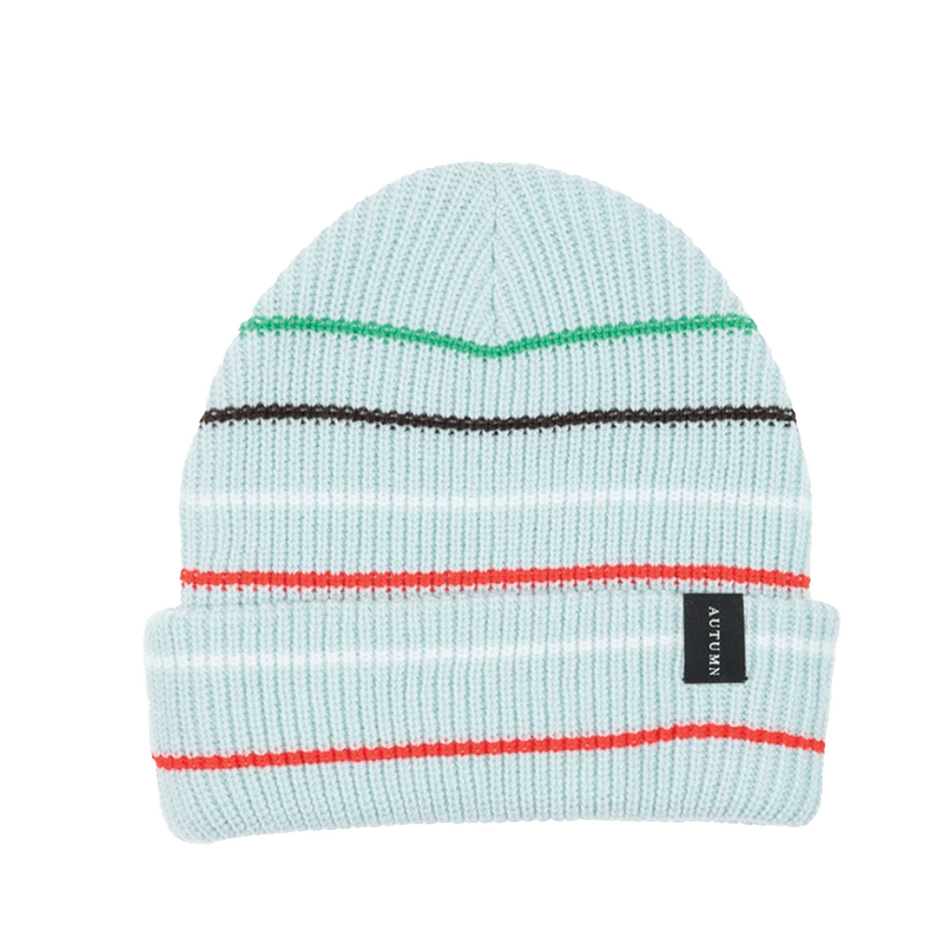 AUTUMN HEADWEAR SELECT MULTI STRIPE BEANIE- BABY BLUE