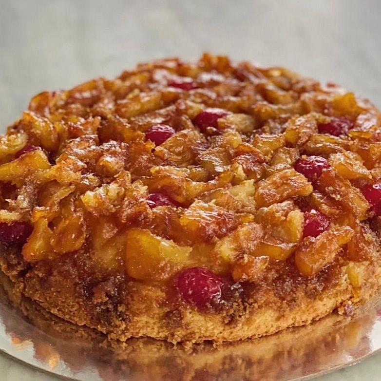 Pineapple Upside Down Cake - Wildflour To-Go