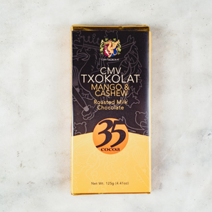 CMV Txokolat Roasted Milk Chocolate with Mango & Cashew