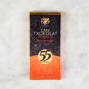 CMV Txokolat Dark Chocolate with Davao Pomelo