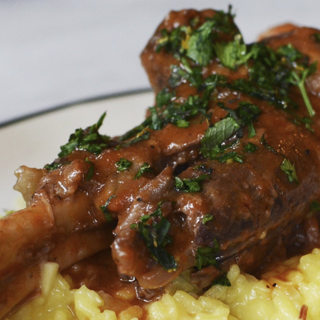 Braised Lamb Shank - Wildflour To-Go