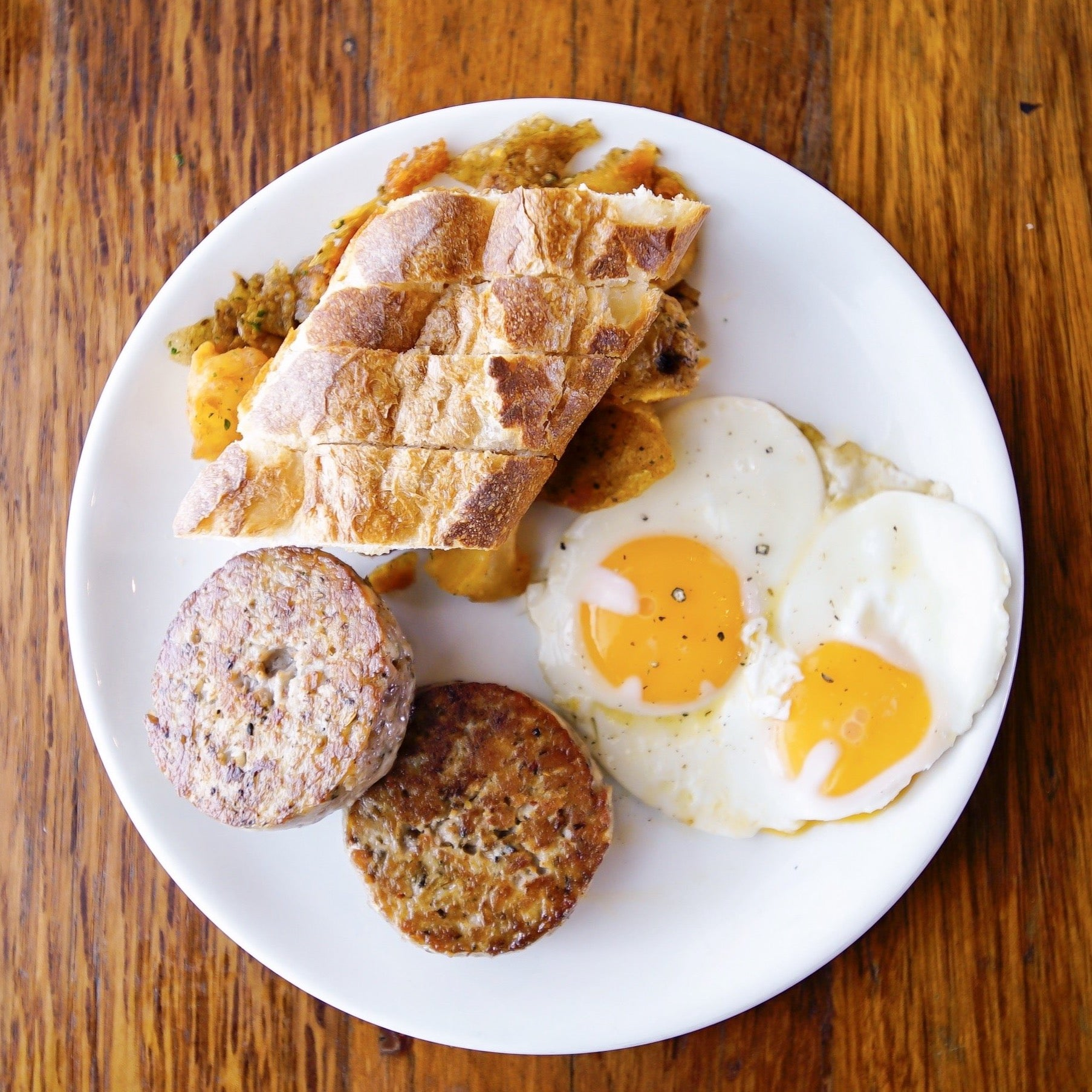 Wildflour Breakfast with Sausage