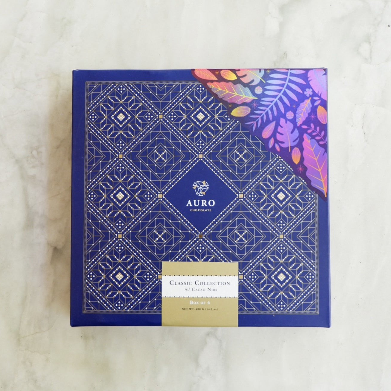 Auro Classic Collection with Cacao Nibs Gift Box