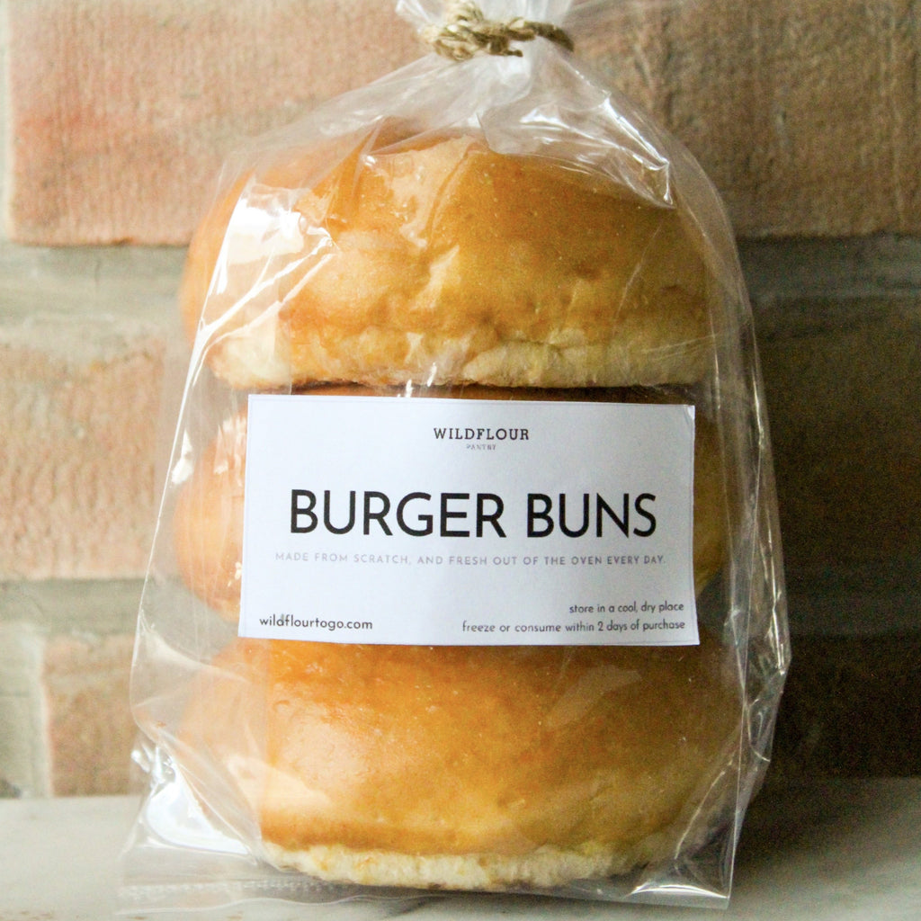 Burger Buns - Wildflour To-Go