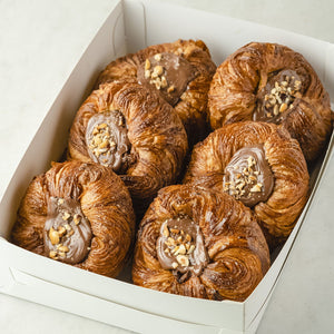 Banana Nutella Danish - Wildflour To-Go