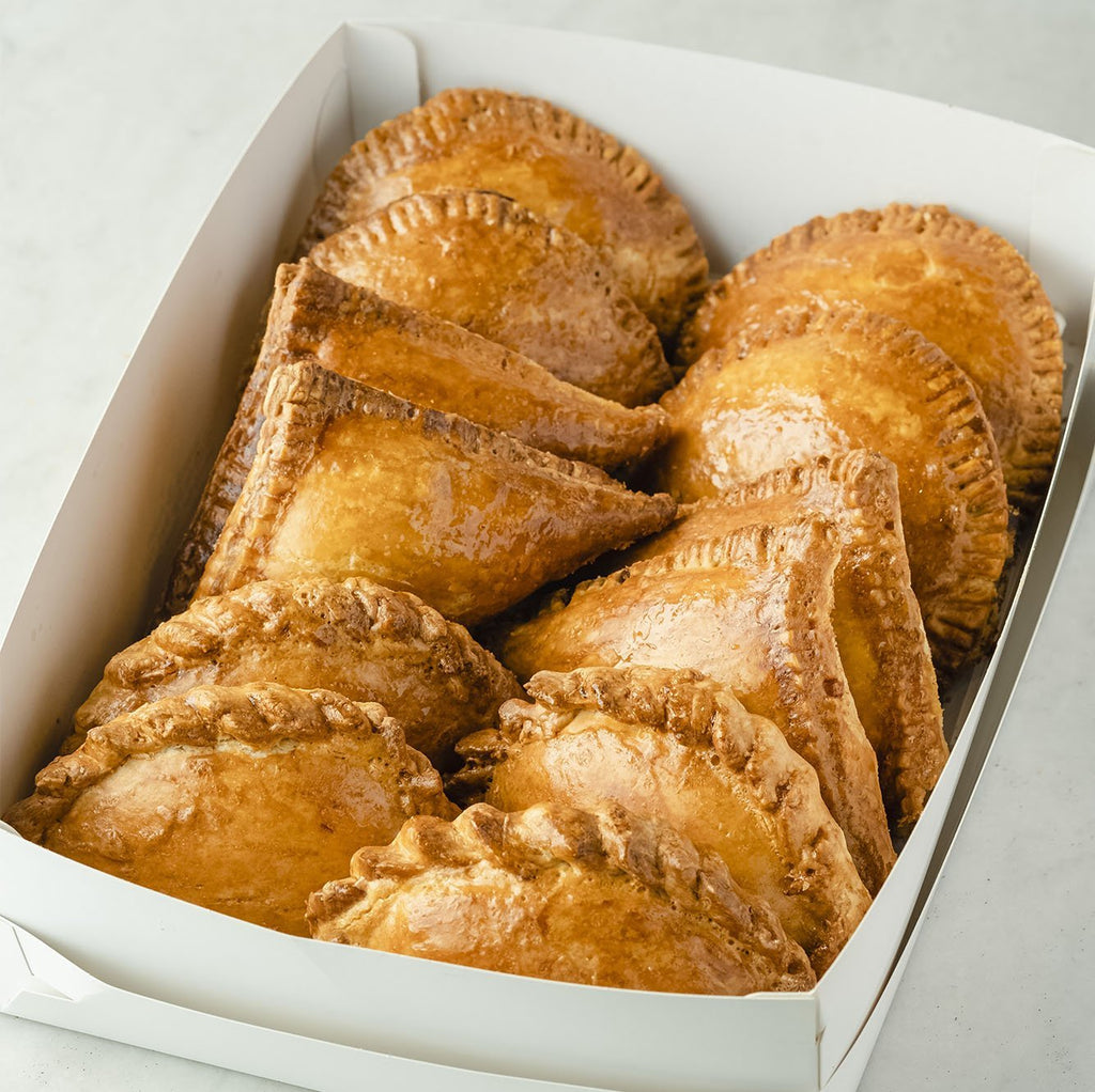 Box of Assorted Corned Beef and Tuna Hand Pies pastry