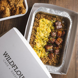 Adobo Fried Rice - Wildflour To-Go