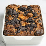 Load image into Gallery viewer, Whole Bread Pudding served with Crème Anglaise bread or dessert