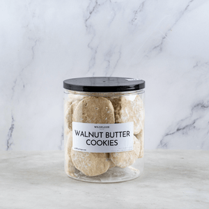 Walnut Butter Cookies - Wildflour To-Go
