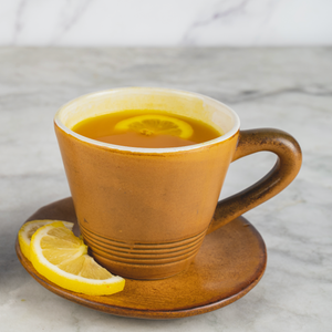 Fresh Ginger and Turmeric Tea