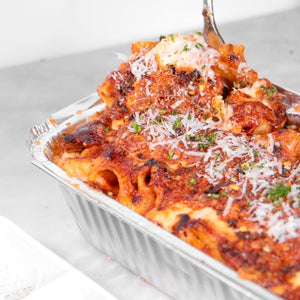 Baked Rigatoni with Pork Ragu - Wildflour To-Go