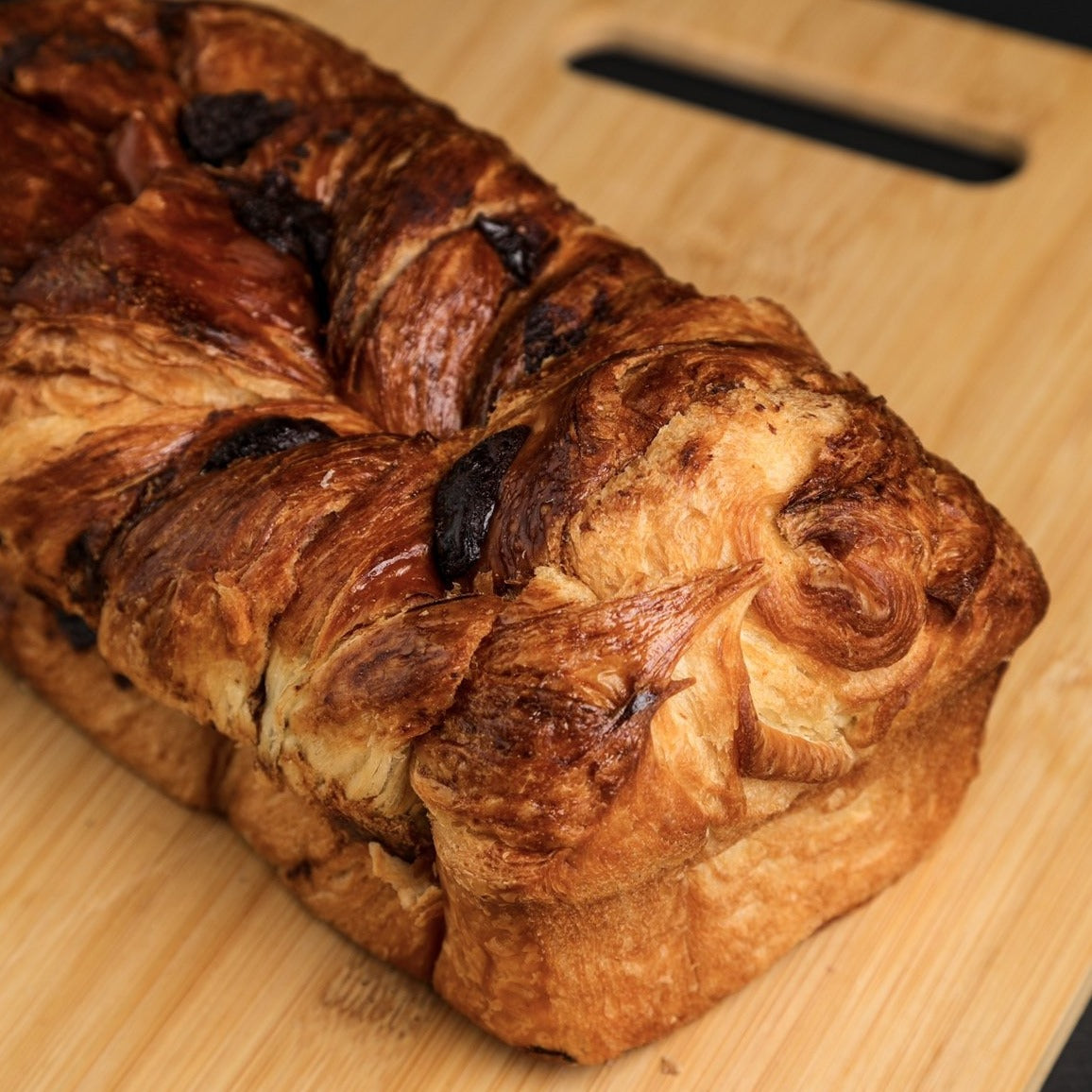 Chocolate Croissant Loaf