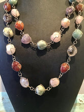 Load image into Gallery viewer, Polished Stone Necklace
