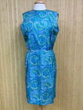 Load image into Gallery viewer, Pure Silk Avalon Paisley Dress (L)