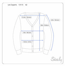 Load image into Gallery viewer, Les Copains Beaded Cardigan (S)