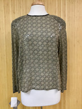 Load image into Gallery viewer, Jones New York Sequined Top (L)