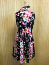 Load image into Gallery viewer, Voodoo Vixen Floral Dress (L)