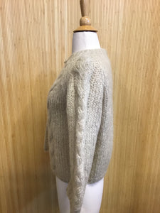 Vintage Hand Knit J.L. Brandeis & Sons Sweater (S)