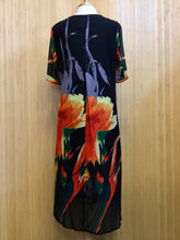 Load image into Gallery viewer, Fenlanse Floral Maxi Dress. (L)