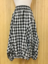 Load image into Gallery viewer, Yea Gingham Harem Skirt (S)