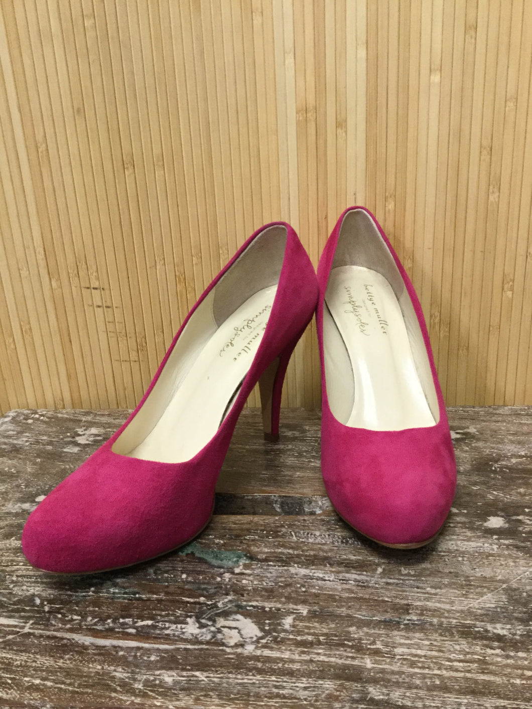 Bettye Muller Suede Pumps (8)