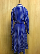 Load image into Gallery viewer, Leslie Fay Polka Dot Dress (M)