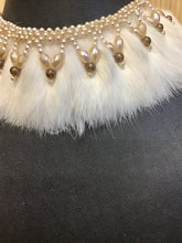 Load image into Gallery viewer, Beaded Fur Collar