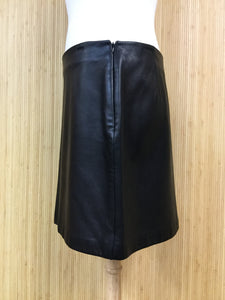 Banana Republic Leather Mini Skirt (L)
