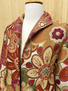 Painted Pony Floral Blazer (M)