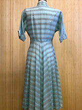 Load image into Gallery viewer, Vintage Striped Midi Dress (S)