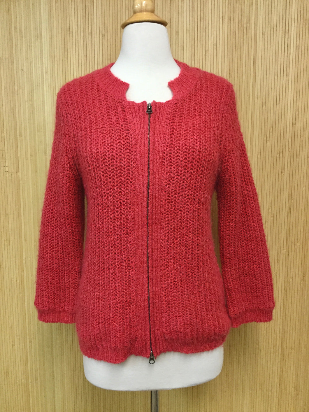 Cabi Zip-Up Sweater (M)