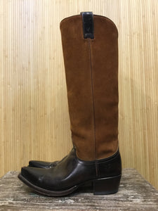 Frye Pointed Toe Knee High Boots (6.5)