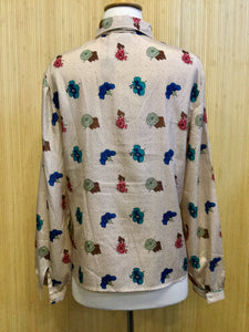 Givenchy Sport Floral Blouse (M)