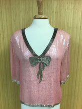Load image into Gallery viewer, Sequined Vintage Top (L)