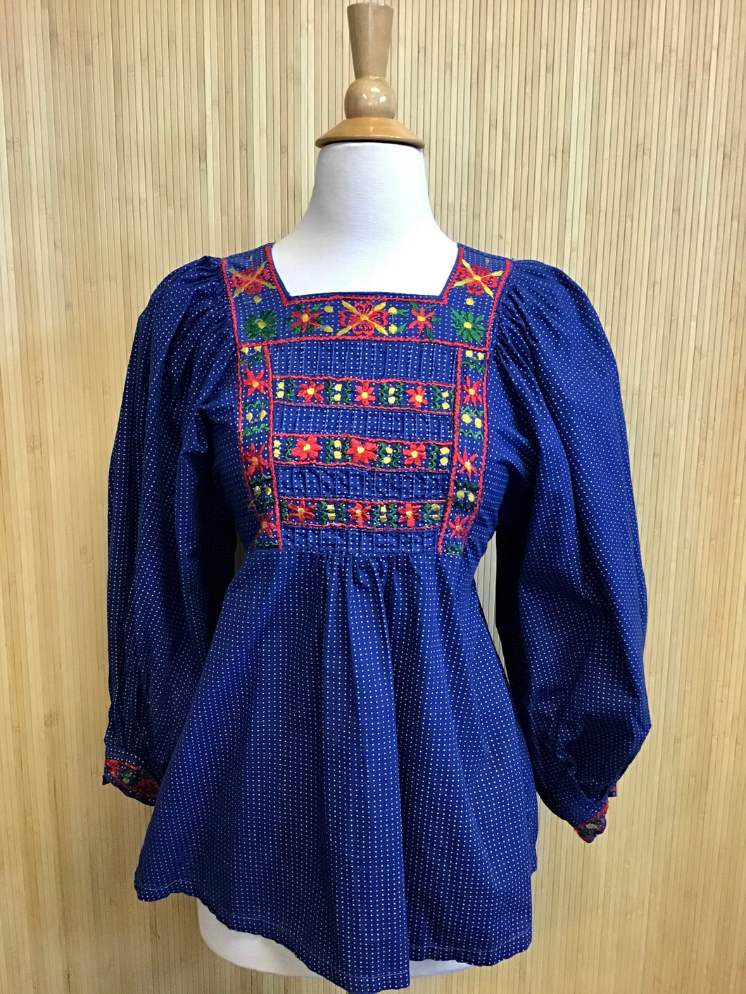 1960's Peasant Blouse (S)